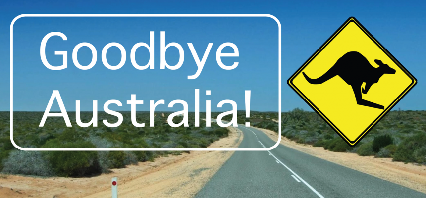 What should you do if you want to leave Australia permanently?